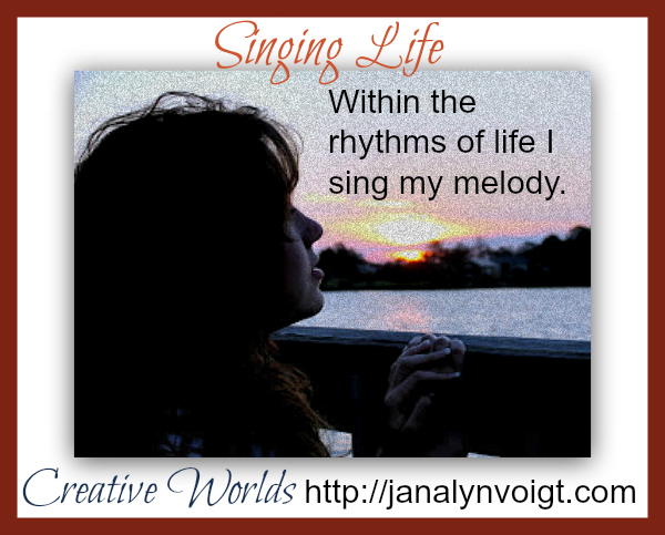 Orginal poetry by Janalyn Voigt
