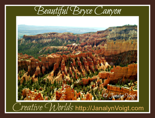 Beautiful Bryce Canyon via @JanalynVoigt