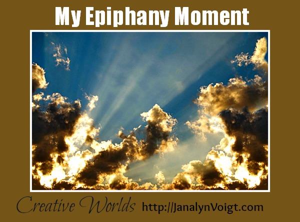 My Epiphany Moment