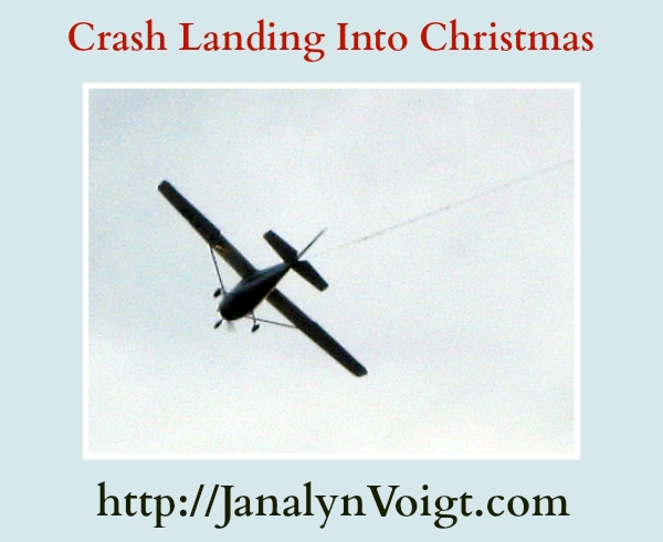 Crash Landing Into Christmas @JanalynVoigt