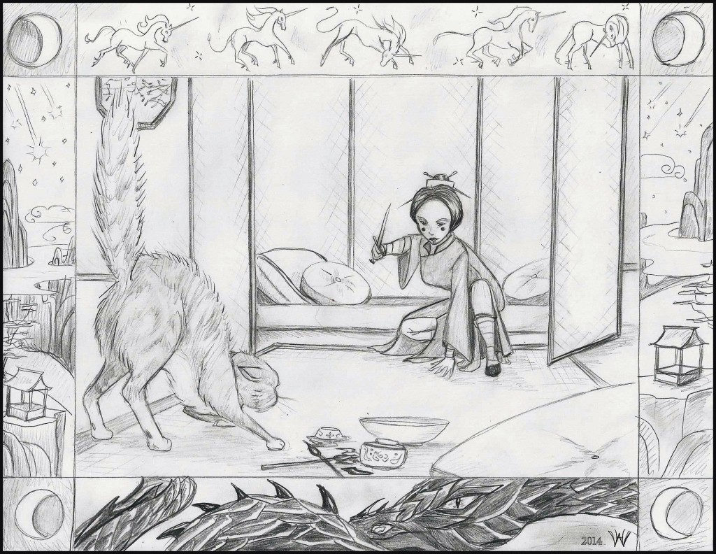 Golden Daughter, Tales of Goldstone Wood, by fantasy author Anne Elisabeth Stengl - sneak peek