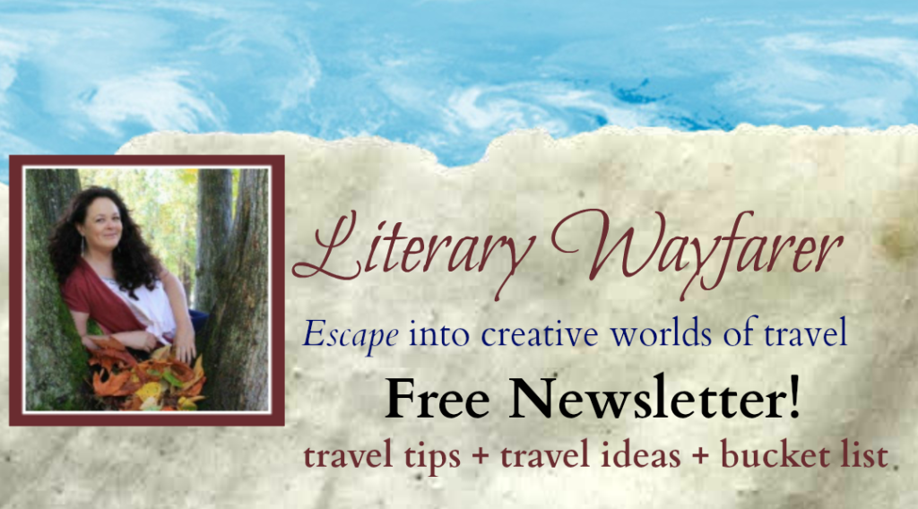 Literary Wayfarer Travel Newsletter Banner
