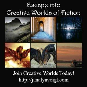 Creative Worlds of Janalyn Voigt newsletter
