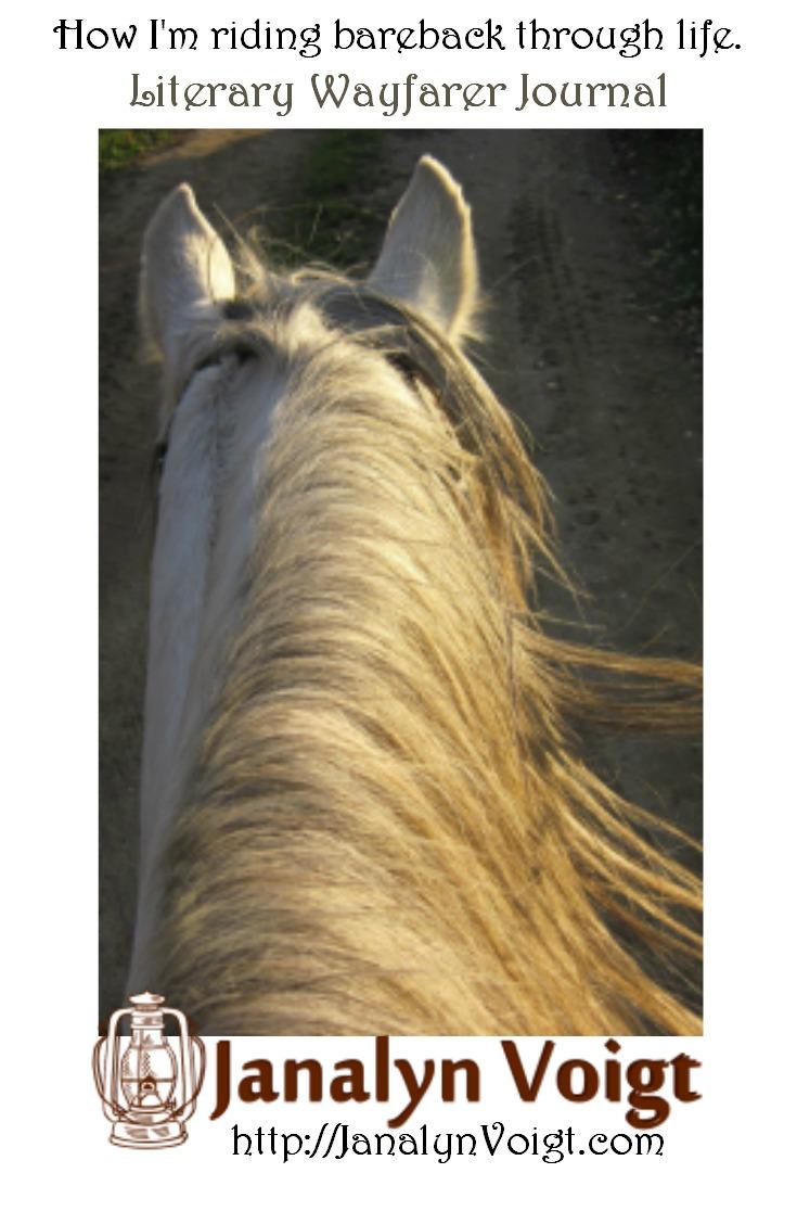 How I'm riding bareback through life. @JanalynVoigt | Literary Wayfarer Journal