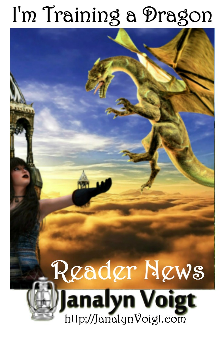 I'm Training a Dragon via Janalyn Voigt Reader News