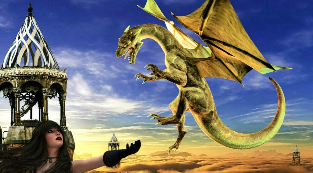 Training a Dragon, Contemplating Death, and Other Pastimes via Janalyn Voigt