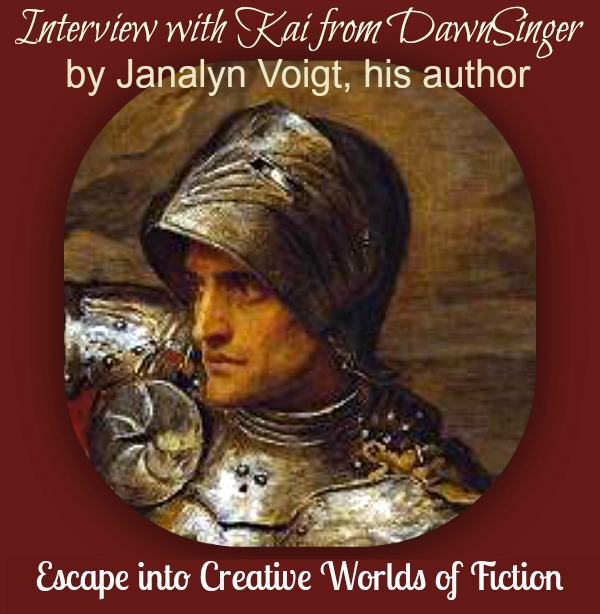 Interview with Kai from DawnSinger by His Author