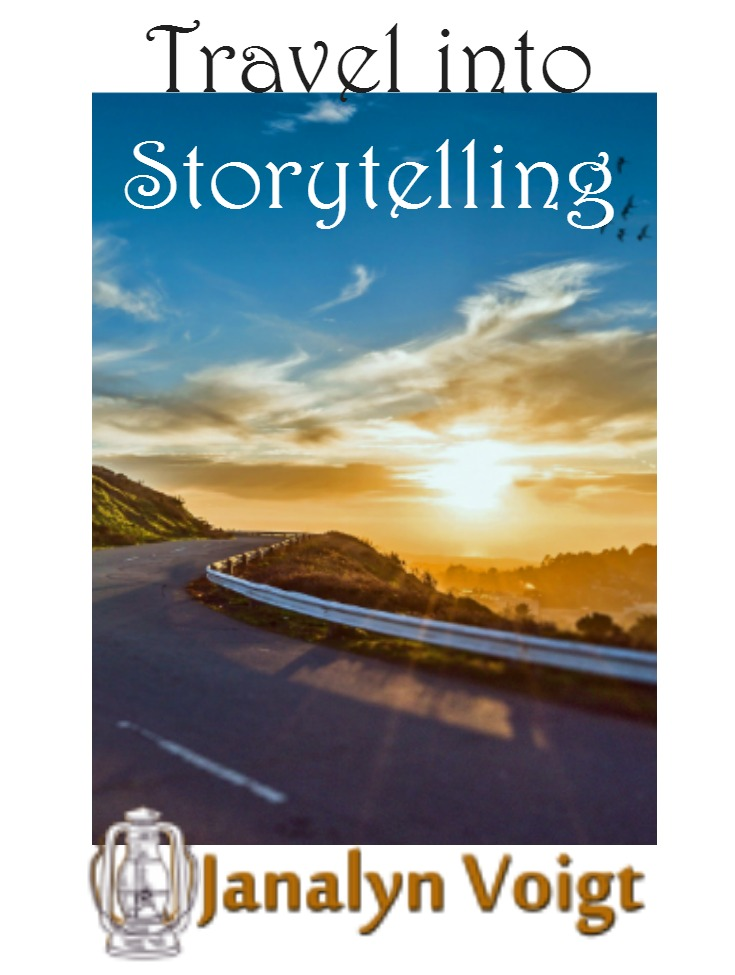 Travel into Storytelling by Janalyn Voigt } Creative Worlds