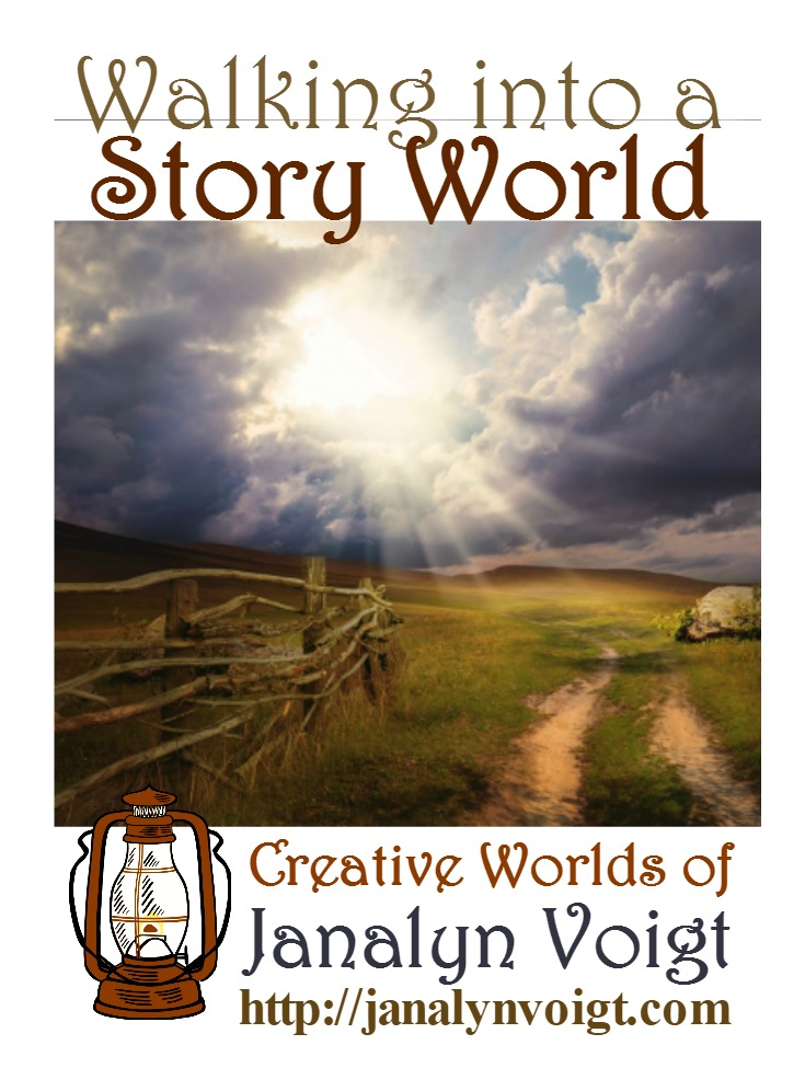 Walking into a Story World via @JanalynVoigt | Creative Worlds