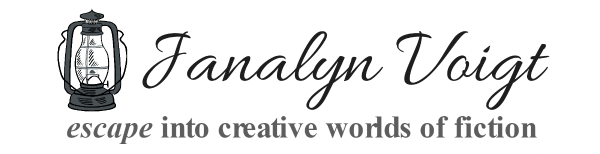 Escape into creative worlds of fiction with Janalyn Voigt
