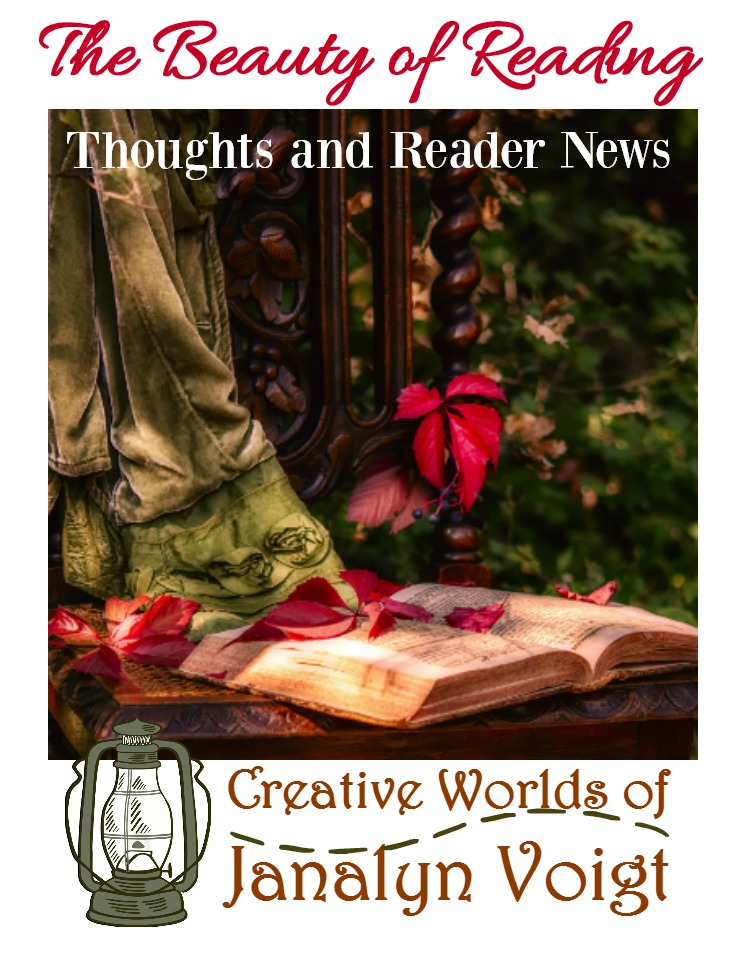 The Beauty of Story | Thoughts and Reader News from Janalyn Voigt
