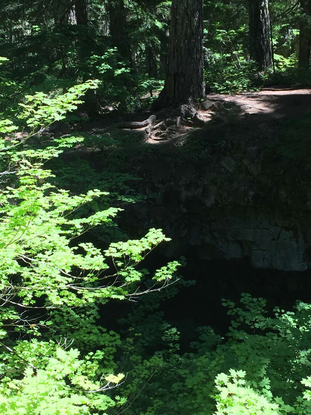 Natural Bridges Rock Formation